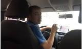 Sayeed, sopir taksi di Moskow asal Tajikistan.