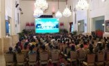 Sejumlah komunitas nelayan dari berbagai daerah menemui Presiden Jokowi di Istana Negara, Selasa (22/1).