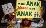 Kampanye Gerakan Stop Perkawinan Anak. (Ilustrasi)