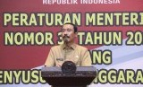 Sekjen Kemendagri Hadi Prabowo menyampaikan imbauan tentang penggunaan anggaran kepada Pemda
