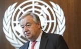 Sekjen PBB Antonio Guterres menilai belum ada komitmen genjatan senjata pihak bertikai.