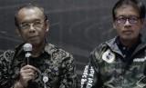Sekretaris Kementerian Pemuda dan Olahraga, Gatot S Dewa Broto (kiri)