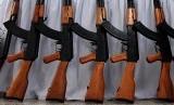 Senapan AK 47 (ilustrasi).