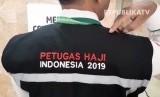 Kemenag Buka Rekrutmen Petugas Haji 2020. Foto: Seragam petugas haji Indonesia 2019