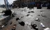 Serangan bom di Afghanistan (ilustrasi).