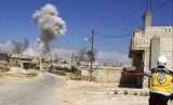 Serangan udara dilancarkan di sekitar Idlib Suriah