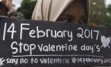 Pelajar menolak perayaan Valentine (ilustrasi)