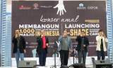 """Snada bersama dengan grup dan solois Nasyid Indonesia, meresmikan Indonesian Nasheed Care(I-Share) bertajuk """"Dari Nasyid untuk Kemanusiaan"""" bersama dengan Rumah Infaq untuk penggalangan dana Membangun 1.000 Masjid di Pelosok Indonesia di Depok Town Square pads Ahad (11/2)."""