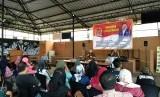 Sosialisasi 4 Pilar di Restoran Sadap Jalan Raya Pasar Minggu, Jakarta Selatan, Ahad (9/12).