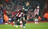 Southampton vs Burnley 2-1 di Stadion St Mary.