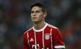 Striker Bayern Muenchen, James Rodriguez.