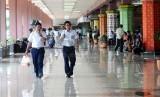 Bandara Halim Perdanakusuma, Jakarta. Tak ada persiapan khusus di Halim untuk menyambut WNI yang dipulangkan dari Natuna.