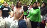 Suasana bank sampah di RW 01, Sunter Jaya, Tanjung Priok, Jakarta Utara, beberapa waktu lalu.