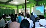Suasana Dauroh Qur'an Bersanad di Mataram, Nusa Tenggara Barat (NTB).