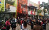 Suasana di depan Kantor MPC Pemuda Pancasila, Kota Bogor, Senin (20/1).