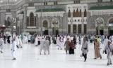 Suasana di Masjidil Haram, Makkah