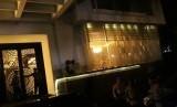 Suasana di rumah Setya Novanto, Rabu (15/11) malam