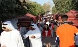 Suasana di salah satu sudut kota Abu Dhabi