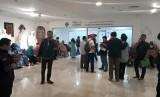 Suasana kantor VFS Tasheel di Blok M, Jakarta