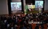Suasana kegiatan Ramadhan Masjid Salman ITB, di Jalan Ganeca, Bandung.