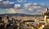Suasana Kota Barcelona, Spanyol.