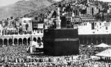 Mengenal Rute Haji Abad Pertengahan. Foto ilustrasi suasana Makkah di masa puncak musim haji tempo dulu