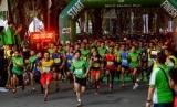 Suasana Milo Medan Run 5K.