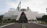Suasana Museum Gunungapi Merapi (MGM) di Jalan Kaliurang, Desa Hargobinangun, Kecamatan Pakem, Kabupaten Sleman, DIY, Kamis (28/12).