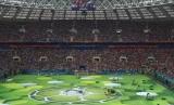 Suasana Pembukaan Piala Dunia 2018.
