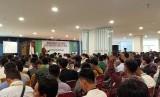 Suasana penutupan Munas Pemuda Hidayatullah VII di Jakarta, Ahad (19/1).