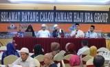 Suasana manasik perdana  calon jamaah haji NRA Group tahun 2020 M/ 1441 H.