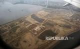 Suasana Pulau G hasil reklamasi di Teluk Jakarta.