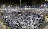 suasana puncak haji di Masjidil Haram