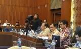 Suasana rapat dengar pendapat di DPR Senayan Jakarta