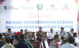 Suasana Seminar Pengembangan Potensi Perekonomian Daerah Dengan Menggalakan Ekspor Melalui Pelabuhan Sibolga yang diadakan oleh Pemkot Sibolga.