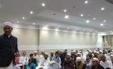 Suasana seminar untuk muthowif yang digelar oleh Asphurindo di Makkah, Jumat (5/1).