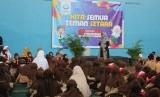 Suasana solisasi sekolah ramah anak di SDIT Nurul Fikri Depok.