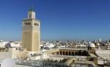 Sudut kota Tunis, Tunisia.