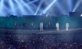 Super Junior, salah satu boy group Korea populer. Musik K-Pop mampu menghasilkan devisa ekspor bagi Korea Selatan senilai 8,2 miliar dolar AS.