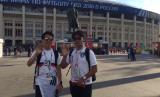 SUporter Korea Selatan tetap bersemangat dukung timnya