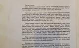 surat pengunduran diri bupati mandailing natal