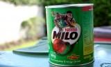 Susu bubuk Milo.