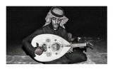 Syech Albar, musisi yang memperkenalkan orkes gambus ke Indonesia.