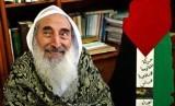 Syekh Ahmad Yassin menggunakan kursi roda semasa hidupnya. Syekh Ahmad Yassin.