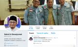 Akun Twitter Juru Bicara BPN Prabowo-Sandi Dibajak