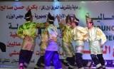 Tari Rentak Besapih yang dibawakan sejumlah mahasiswa Indonesia memeriahkan Festival Persahabatan Bangsa-Bangsa keempat.