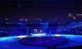 Tarian dari Cina menghibur penonton Asian Games 2018. Asian Games berikutnya di tahun 2022 akan digelar di Hanzhou, Cina.