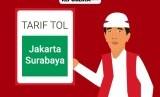 Tarif tol Jakarta hingga Surabaya