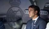 Tatapan kosong pelatih Real Madrid Julen Lopetegui usai timnya menelan kekalahan lagi.