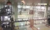 Tempat penyaringan air zamzam di Makkah, Arab Saudi